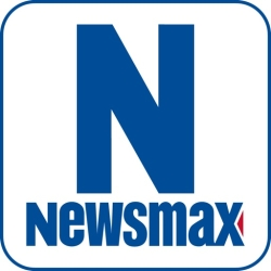 لوگو Newsmax TV & Web