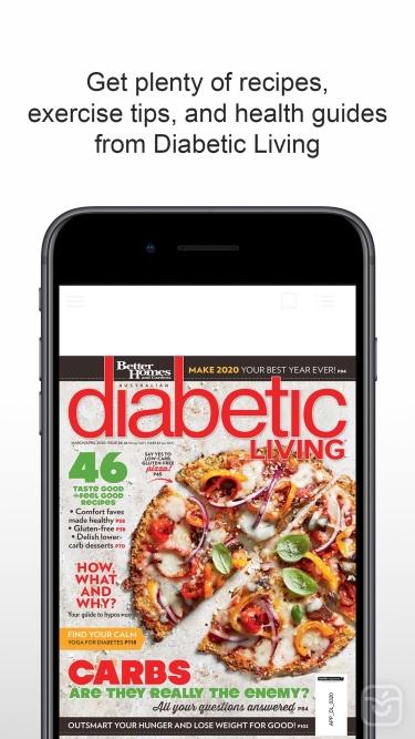 تصاویر Diabetic Living Magazine