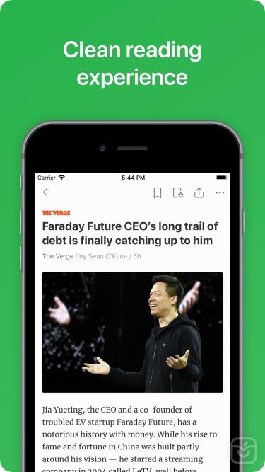 تصاویر Feedly - Smart News Reader