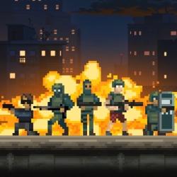 لوگو   Door Kickers: Action Squad