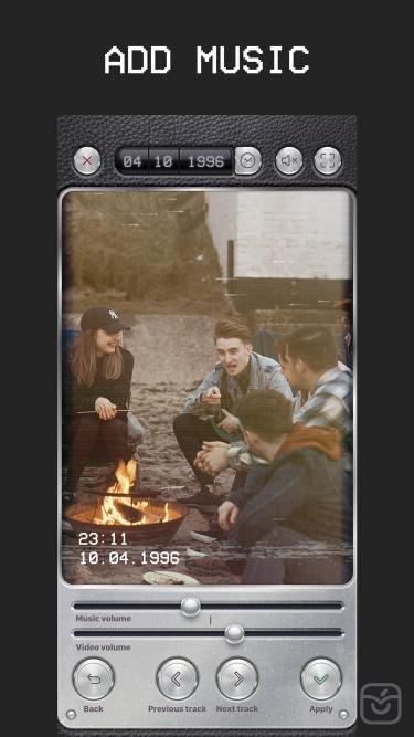 تصاویر VHS Cam: Vintage Video Editor