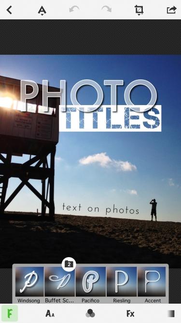 تصاویر TitleFx - Write on Pictures, add Text Captions to Photos