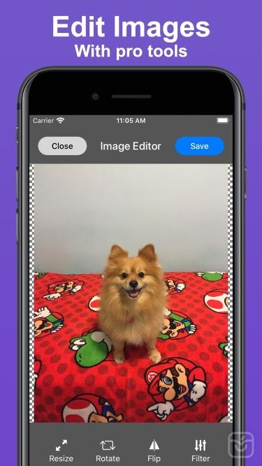 تصاویر Image Utils - Image Editor