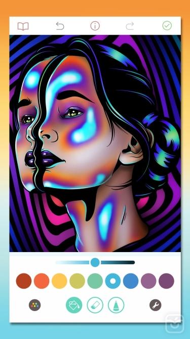 تصاویر Pigment - Adult Coloring Book