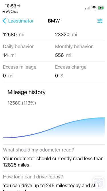 تصاویر Leastimator - Mileage Tracker