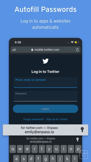 تصاویر  ++ Enpass Password Manager