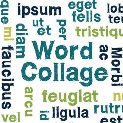 لوگو Word Collage