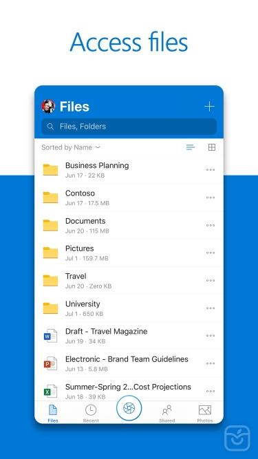 تصاویر Microsoft OneDrive