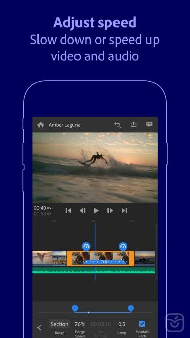 تصاویر Adobe Premiere Rush for Video|آدوبی پریمیر راش