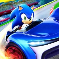لوگو Sonic Racing
