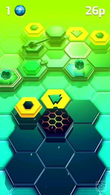 تصاویر Hexaflip: The Action Puzzler