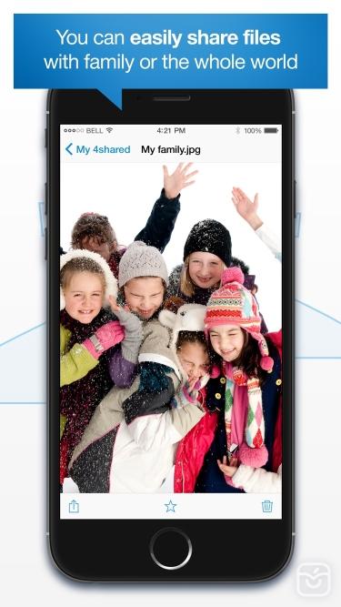 تصاویر 4shared Mobile