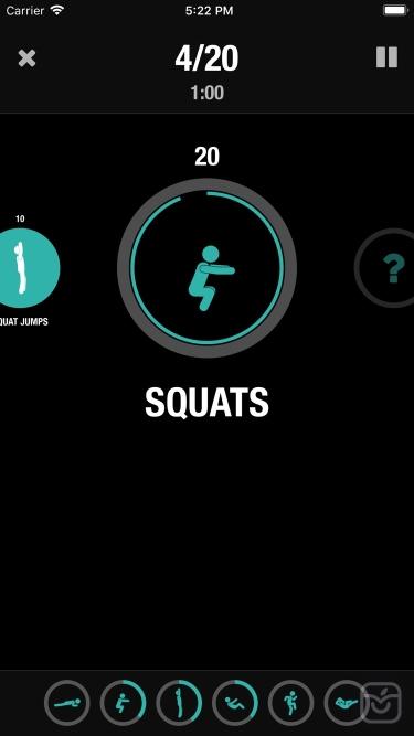 تصاویر Streaks Workout