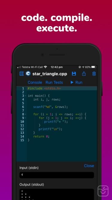 تصاویر Code - Compile & Run Program