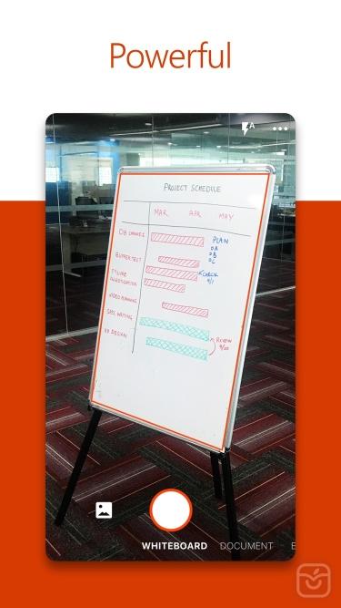 تصاویر Microsoft Office Lens|PDF Scan|اسکنر اسناد