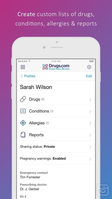 تصاویر Drugs.com Medication Guide