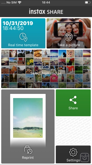 تصاویر instax SHARE