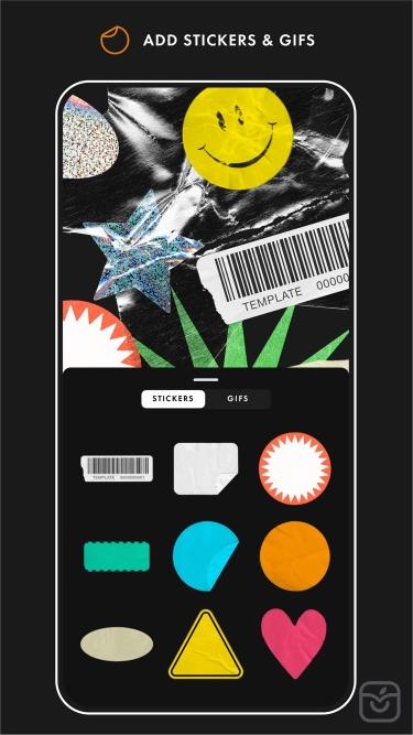 تصاویر Template | Story + Feed Design
