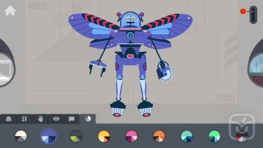 تصاویر The Robot Factory by Tinybop
