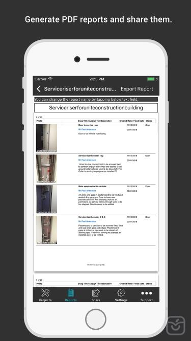 تصاویر SnagBricks - Site Auditing