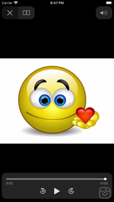 تصاویر Talking Emojis for Texting