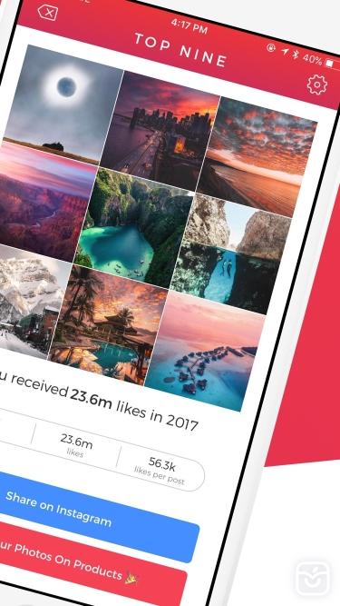 تصاویر Top Nine for Instagram 2020 -