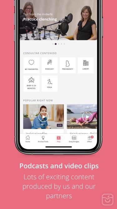 تصاویر Pregnancy App | Preglife