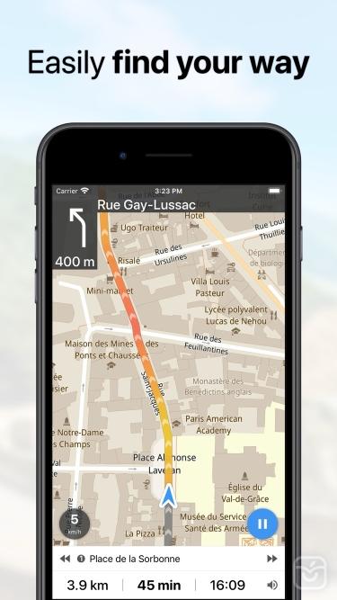 تصاویر Guru Maps Pro
