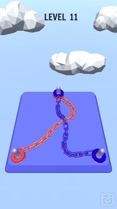 تصاویر Go Knots 3D | گره ها رو باز کن