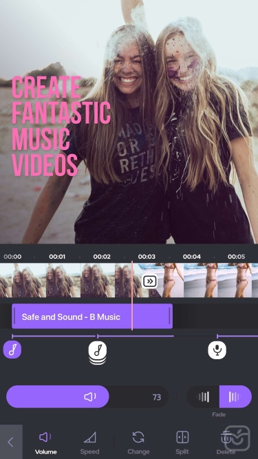 تصاویر Add Background Music To Video