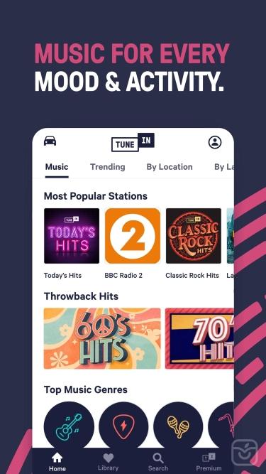 تصاویر TuneIn Radio Pro