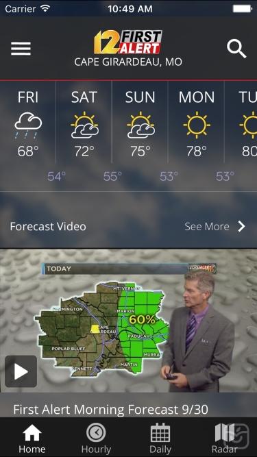 تصاویر KFVS12 StormTeam Weather