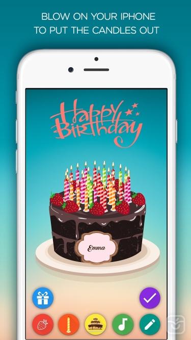 تصاویر Birthday Cake - Blow out the candles