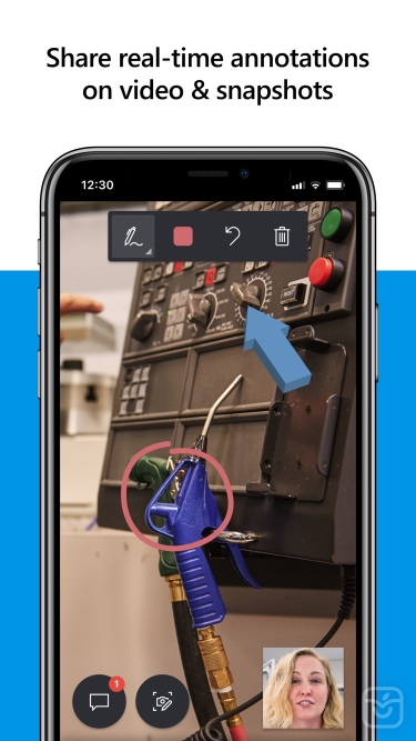 تصاویر Dynamics 365 Remote Assist