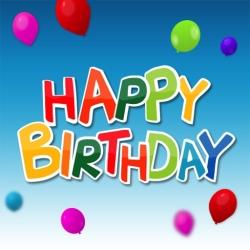 لوگو Happy Birthday : blow out your candles