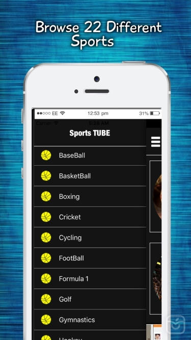 تصاویر Sports TUBE LIVE - Scores, Updates & Highlights