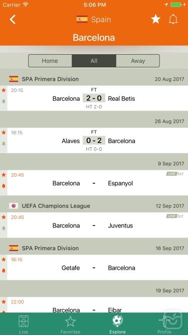تصاویر  ++Futbol24 soccer livescore app