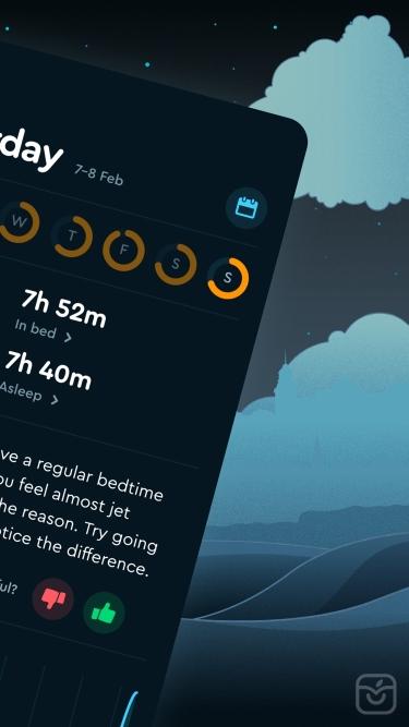 تصاویر Sleep Cycle - Sleep Tracker ++