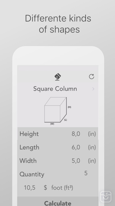 تصاویر Concrete Calculator ++
