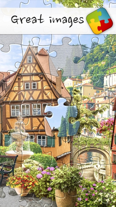 تصاویر Puzzles & Jigsaws Pro