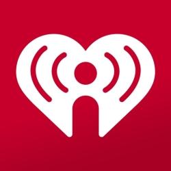 لوگو iHeart: Radio, Music, Podcasts