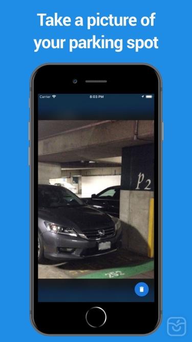 تصاویر Find My Parked Car
