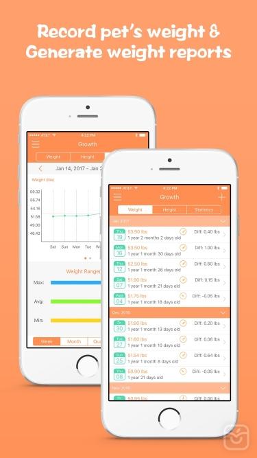 تصاویر Pets Tracker - Pet's Activity and Health Manager