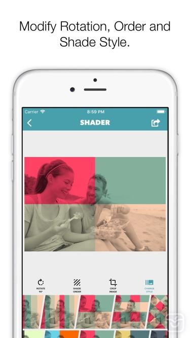 تصاویر Shader - Be Unique