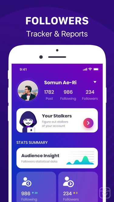 تصاویر Followers+ Track for Instagram