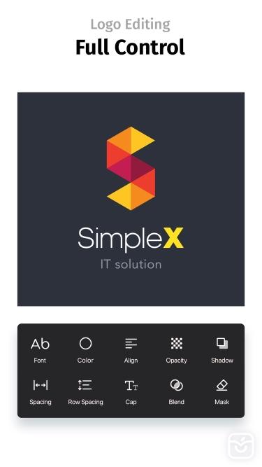 تصاویر Logo Maker+