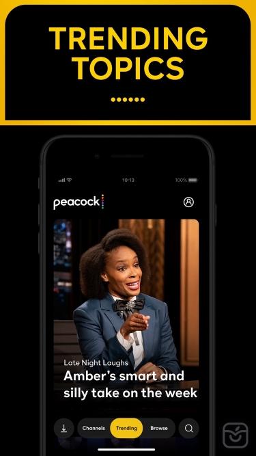 تصاویر Peacock TV