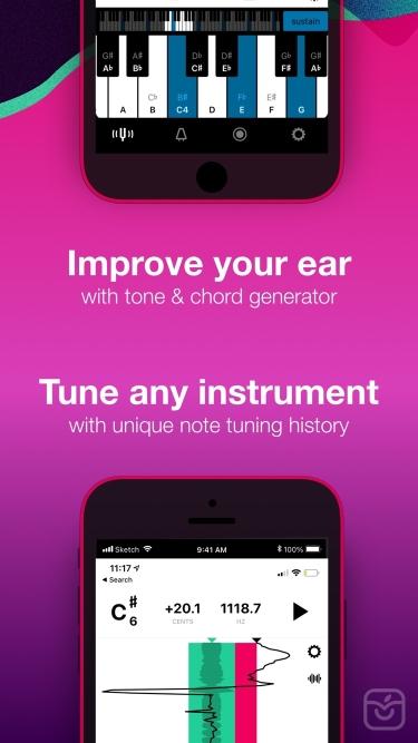 تصاویر Tunable – Tuner & Metronome