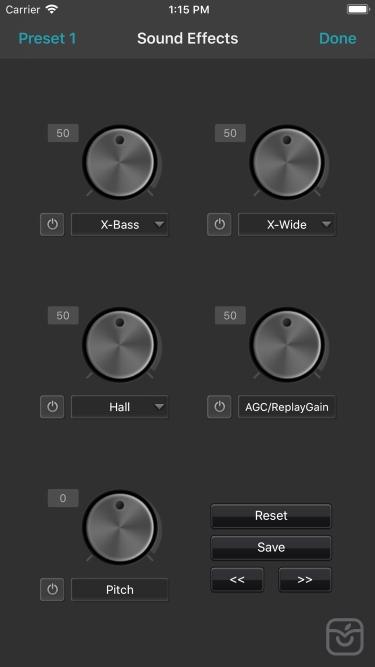 تصاویر jetAudio - MP3 Music Player
