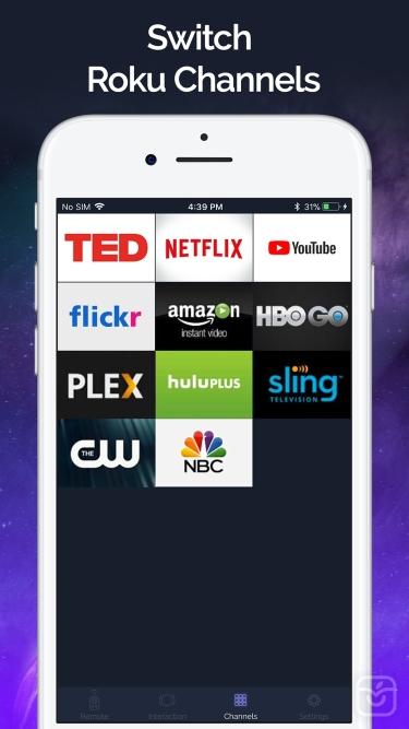 تصاویر Smart Remote - Roku TV Control